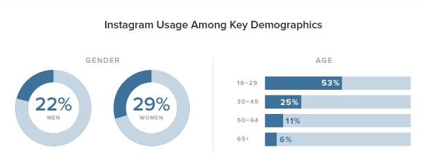 instagram usage among demographics