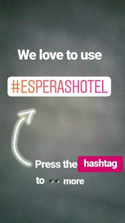παραδειγμα χρήσης hashtag σε instagram story