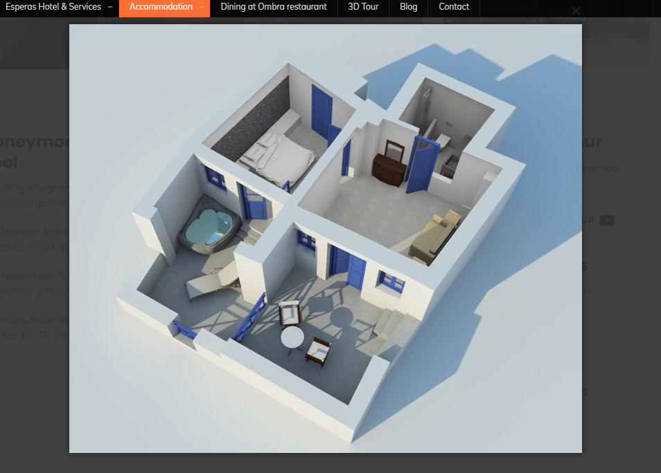 3d plans of rooms